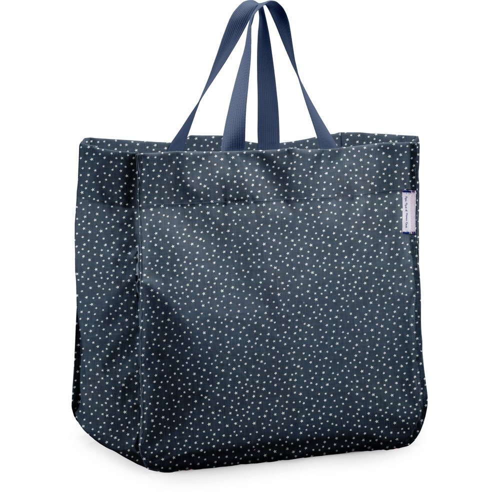 74c311009f Sac cabas shopping etoile argent jean - PPMC