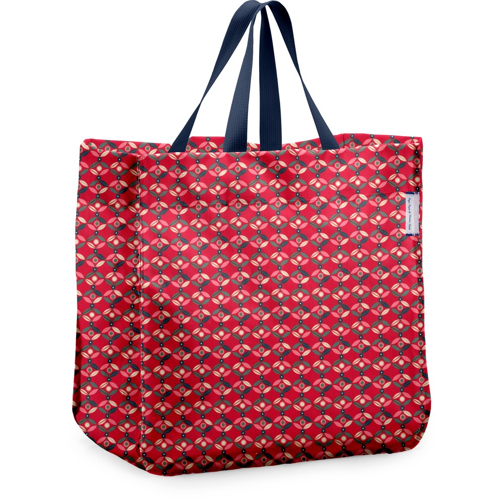 Shopping bag paprika petal