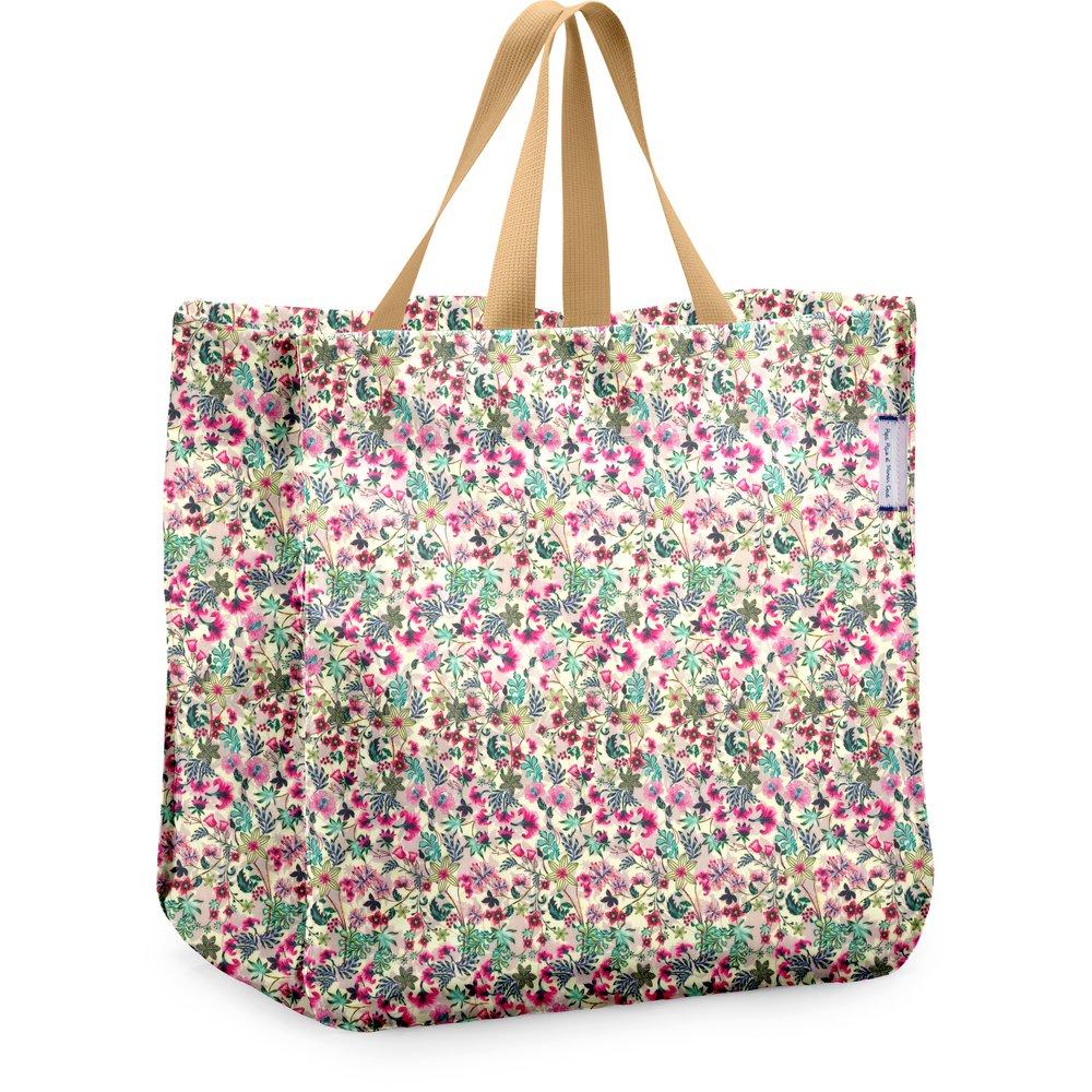 Shopping bag spring