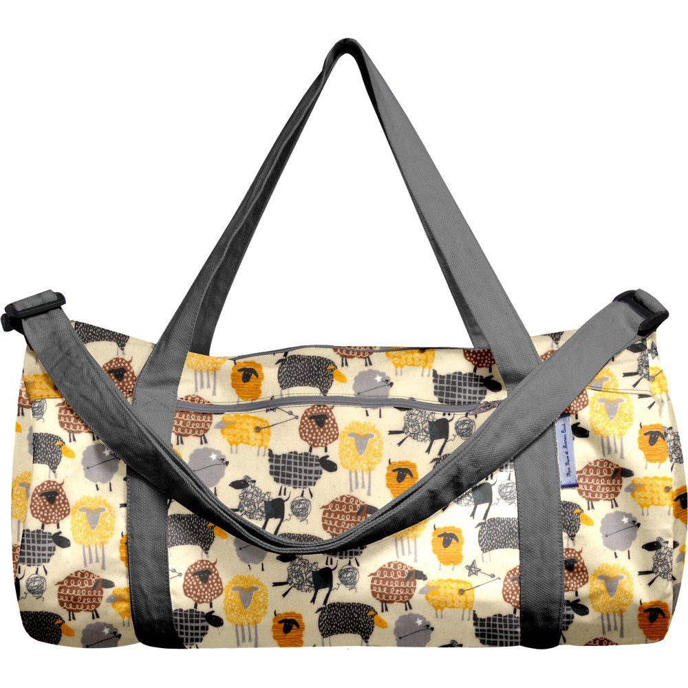 Duffle bag yellow sheep