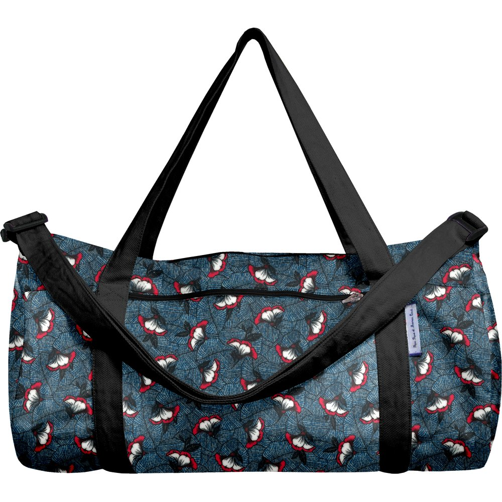Duffle bag flowered night