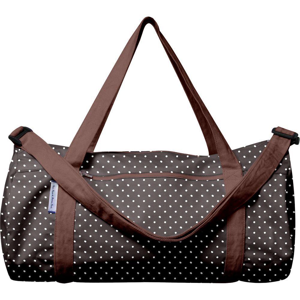 Duffle bag brown spots