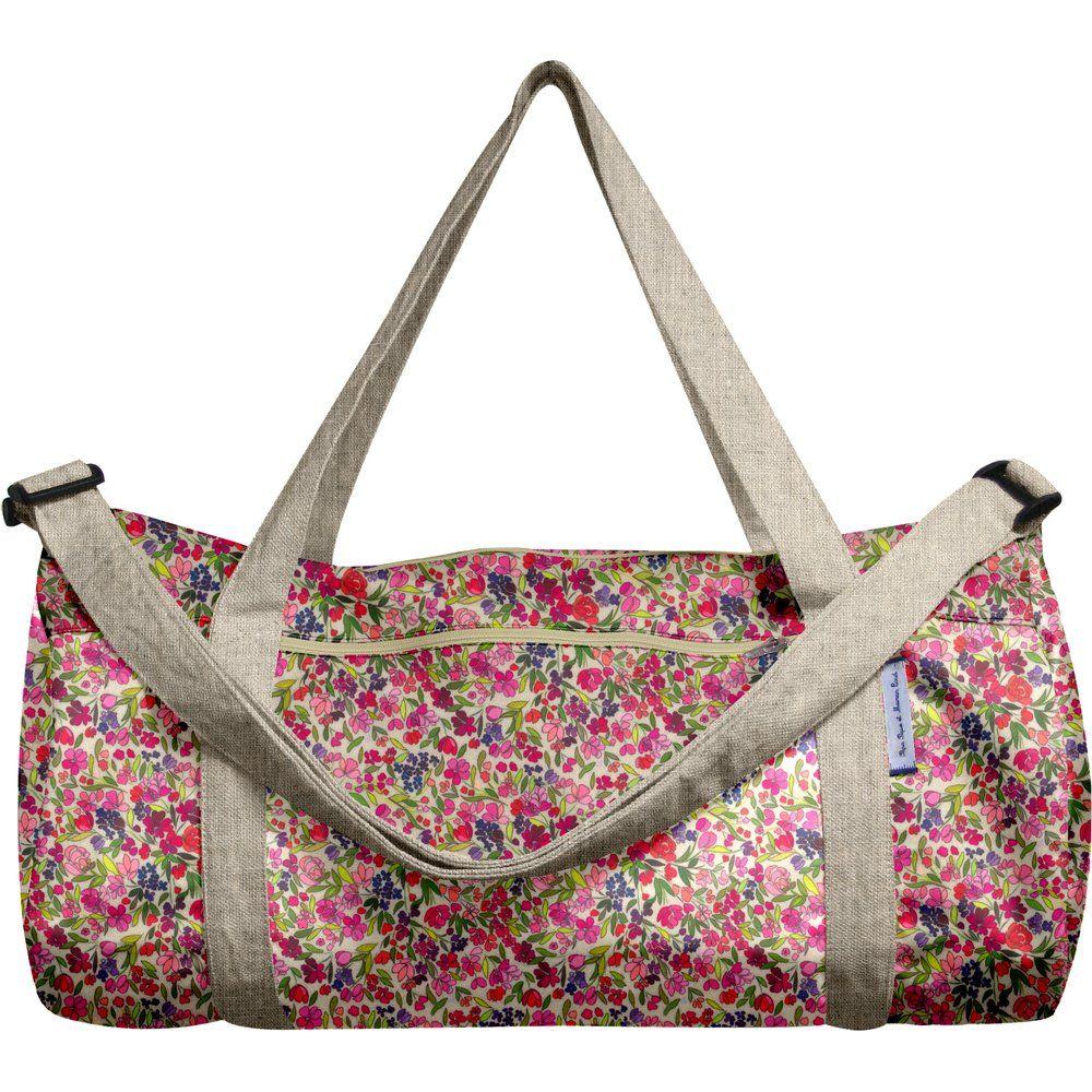 Duffle bag purple meadow