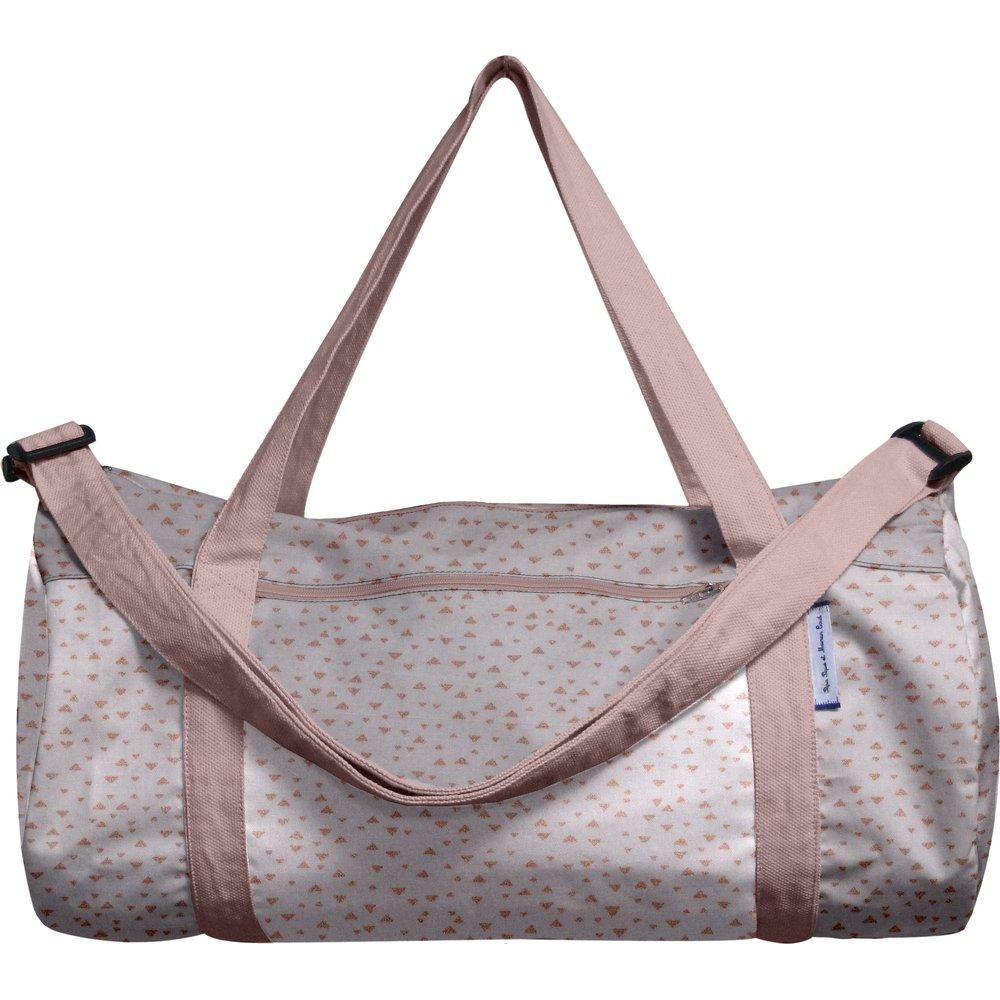 Duffle bag triangle cuivré gris
