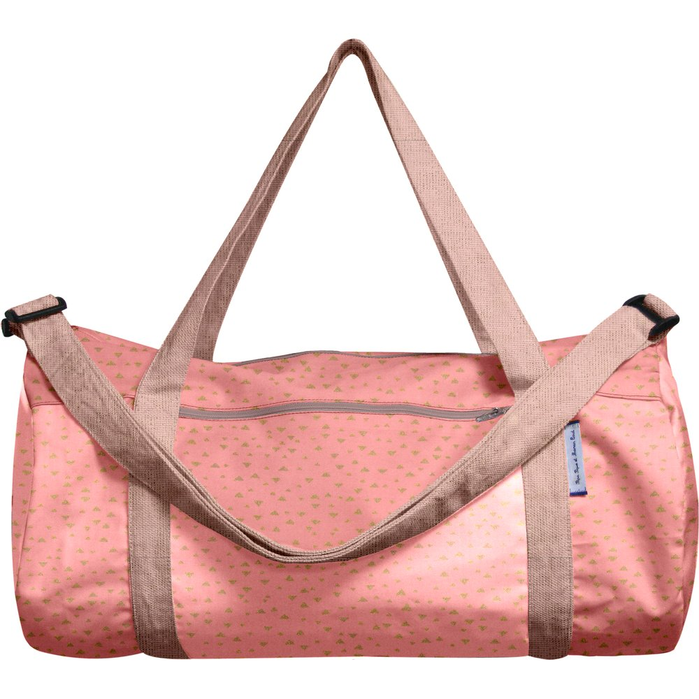 Duffle bag triangle or poudré