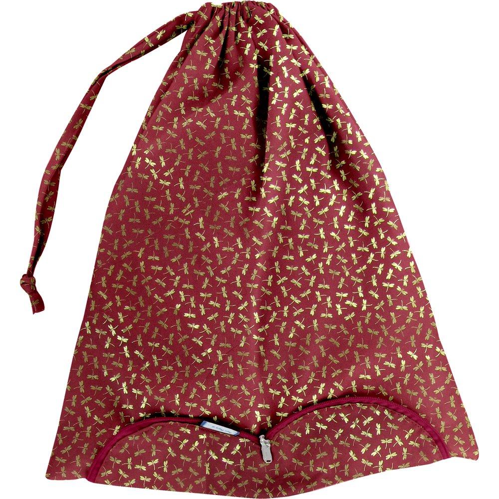 Bolsa para la ropa libélula rojo