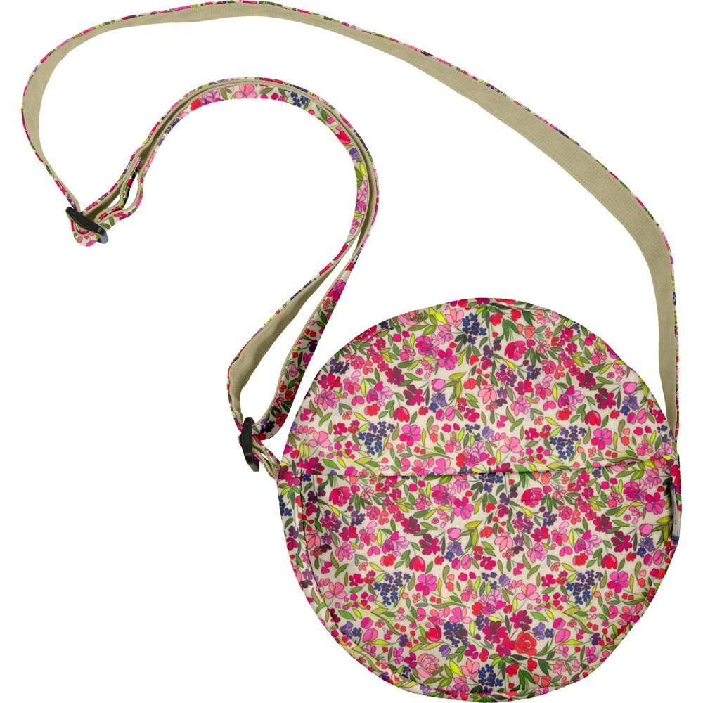 Round bag purple meadow