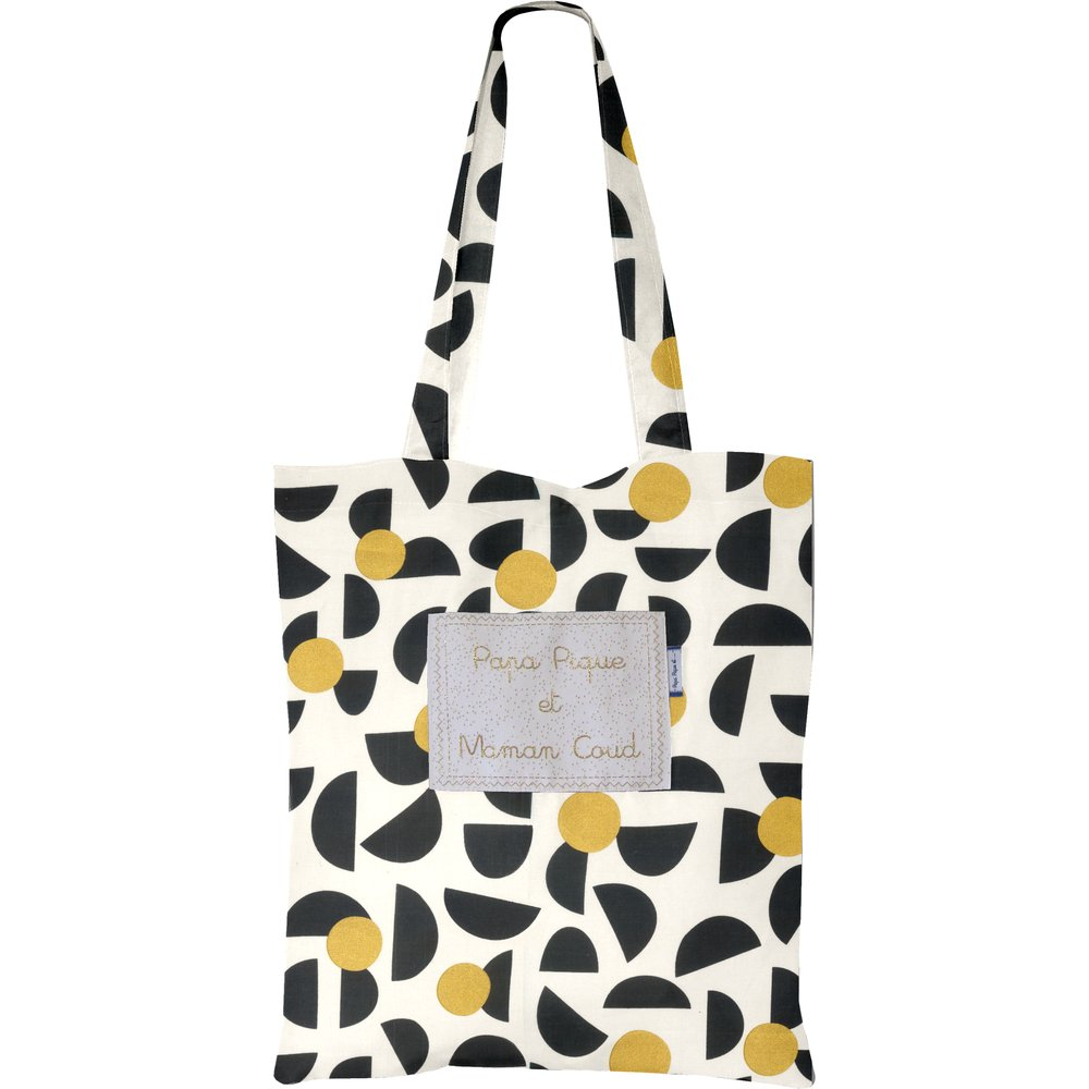 Tote bag golden moon