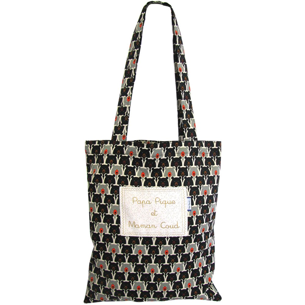 Sac tote bag ours pop