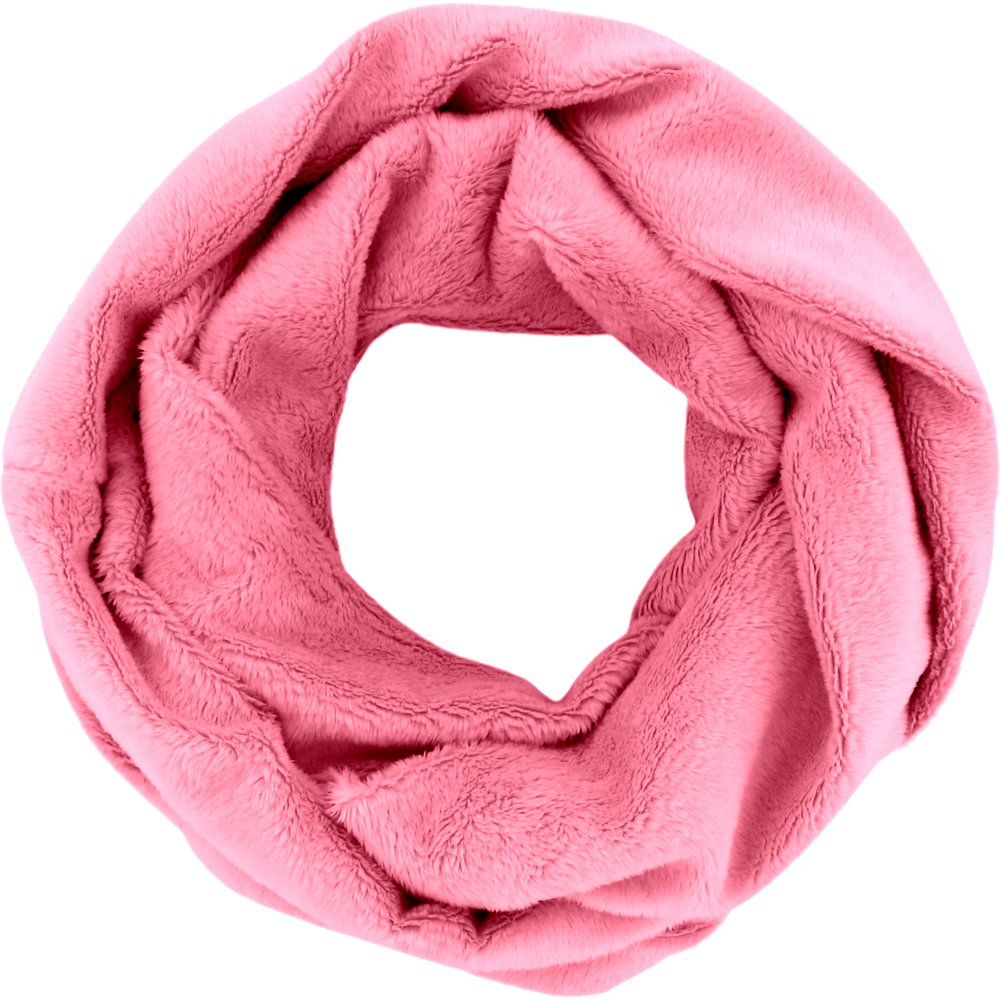 Snood polaire taille unique rose bubble