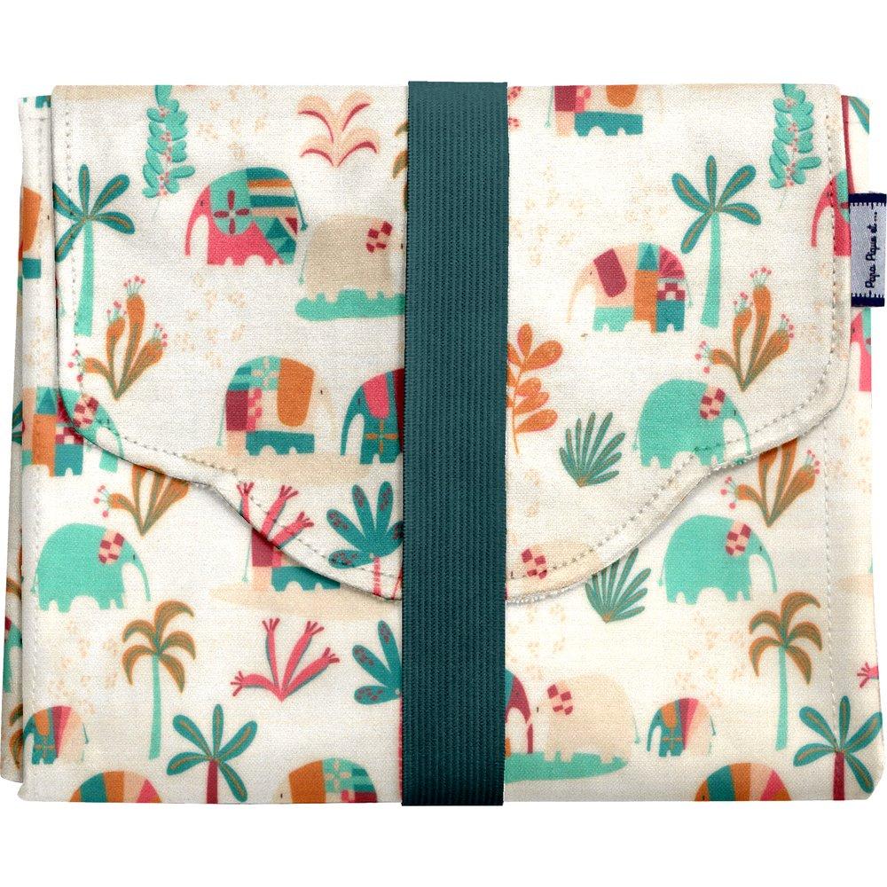 Changing pad carnaval d'eléphants