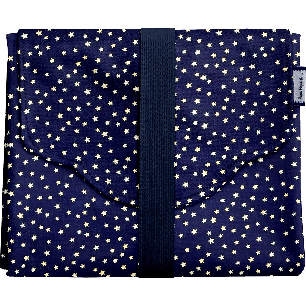 Changing pad navy gold star