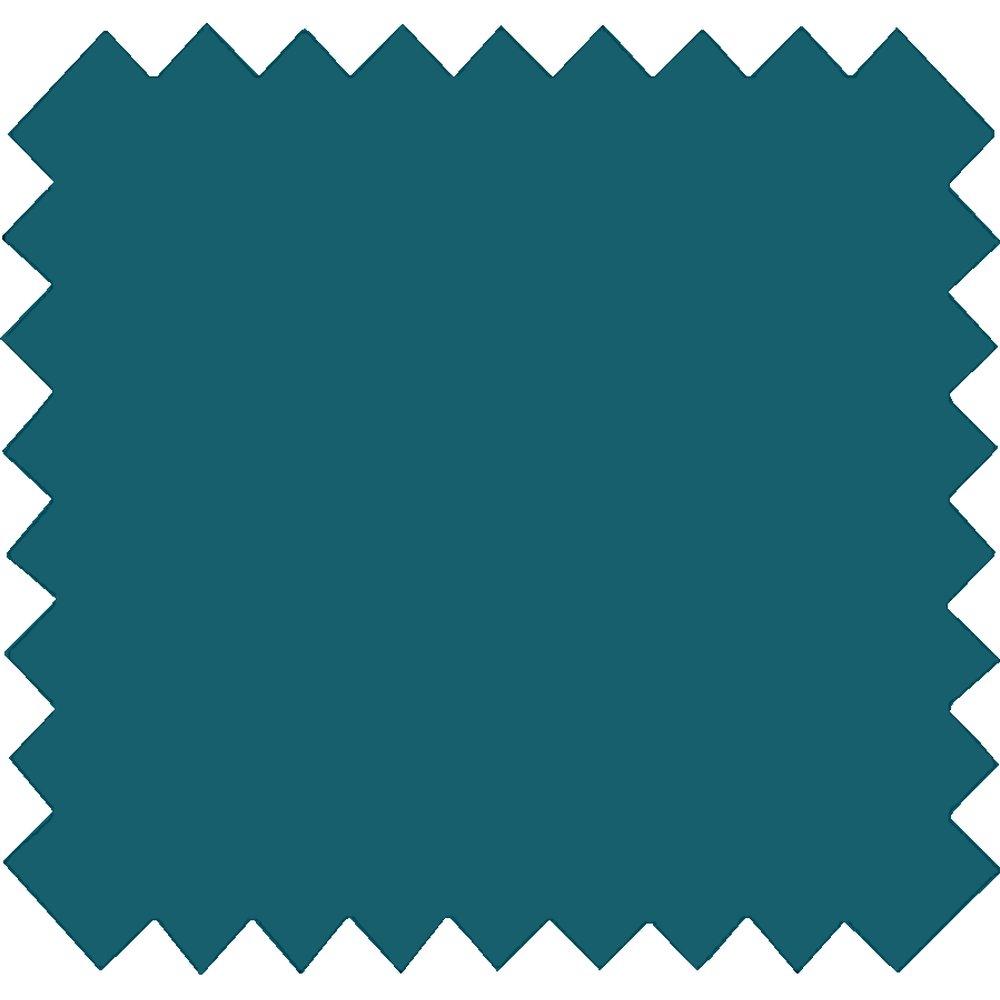 Tissu coton bleu vert