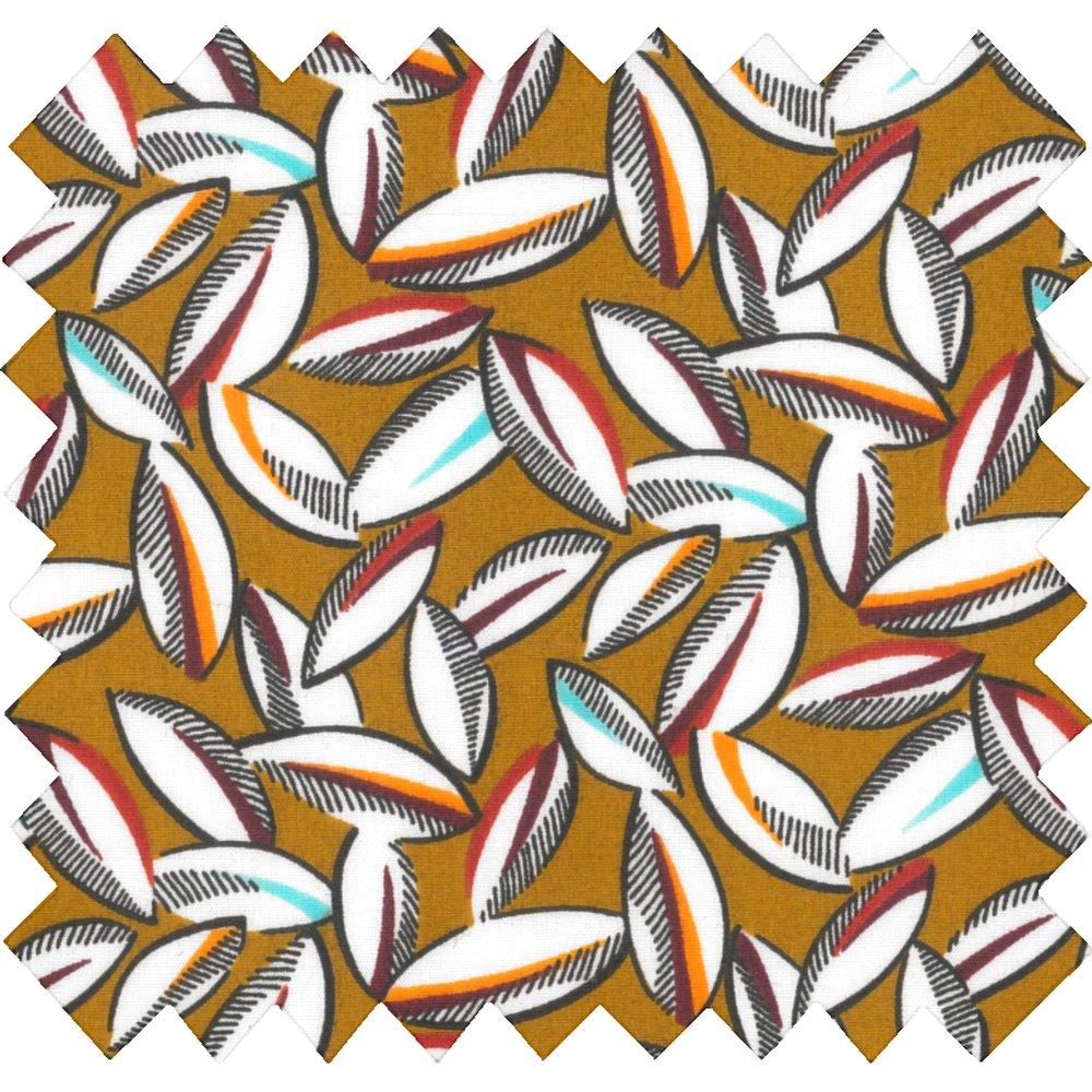 Tissu coton cabosses