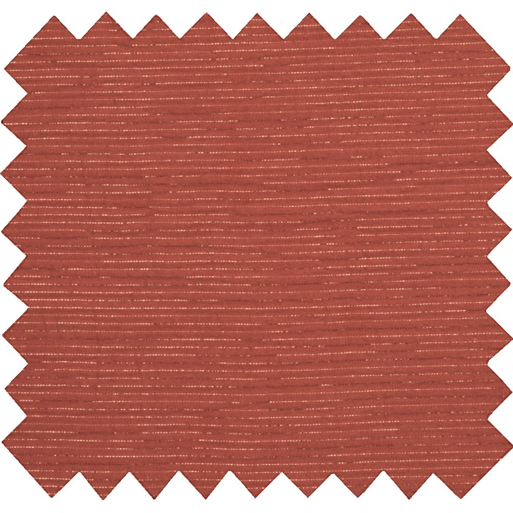 Cotton fabric lurex terracotta gauze