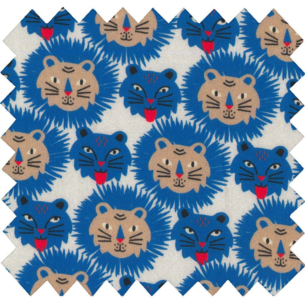 Cotton fabric roar