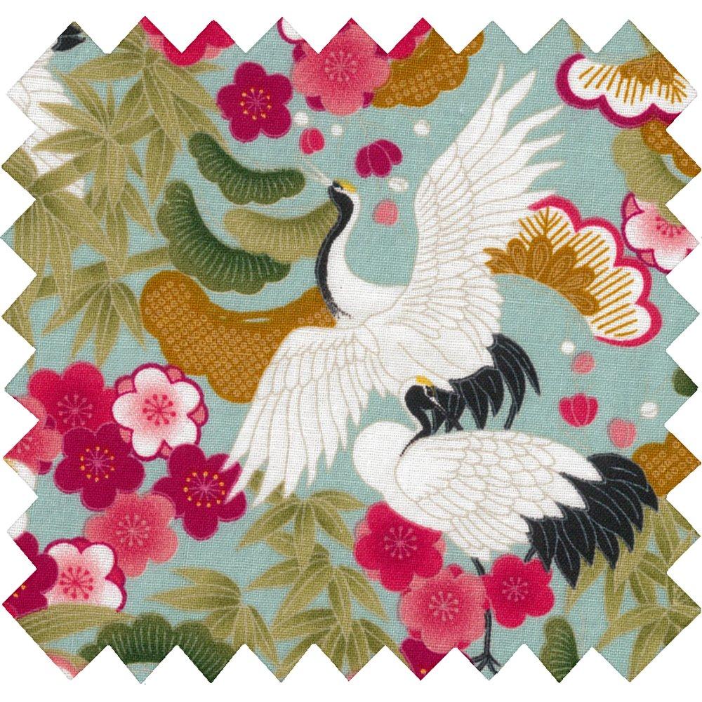 Tela  algodón ibis