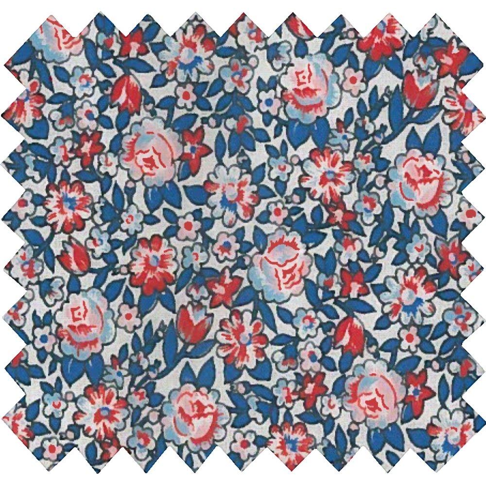Cotton fabric flowered london
