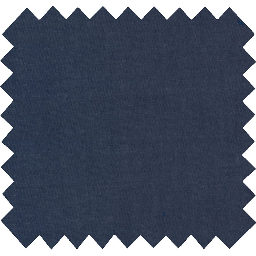 Cotton fabric navy blue