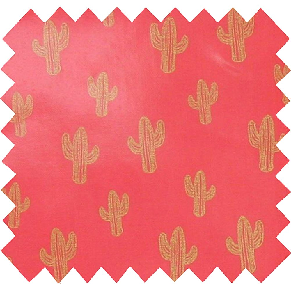 Tissu enduit cactus or