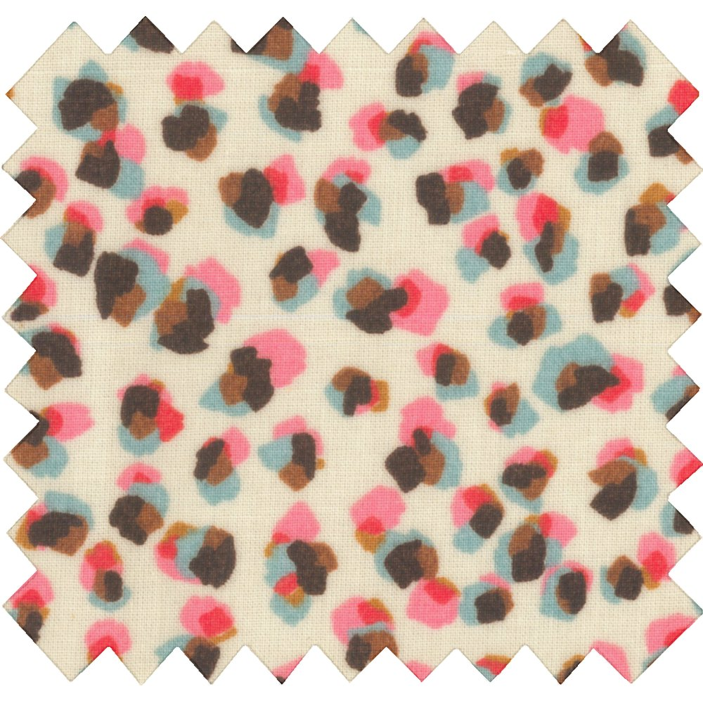 Coated fabric confetti aqua