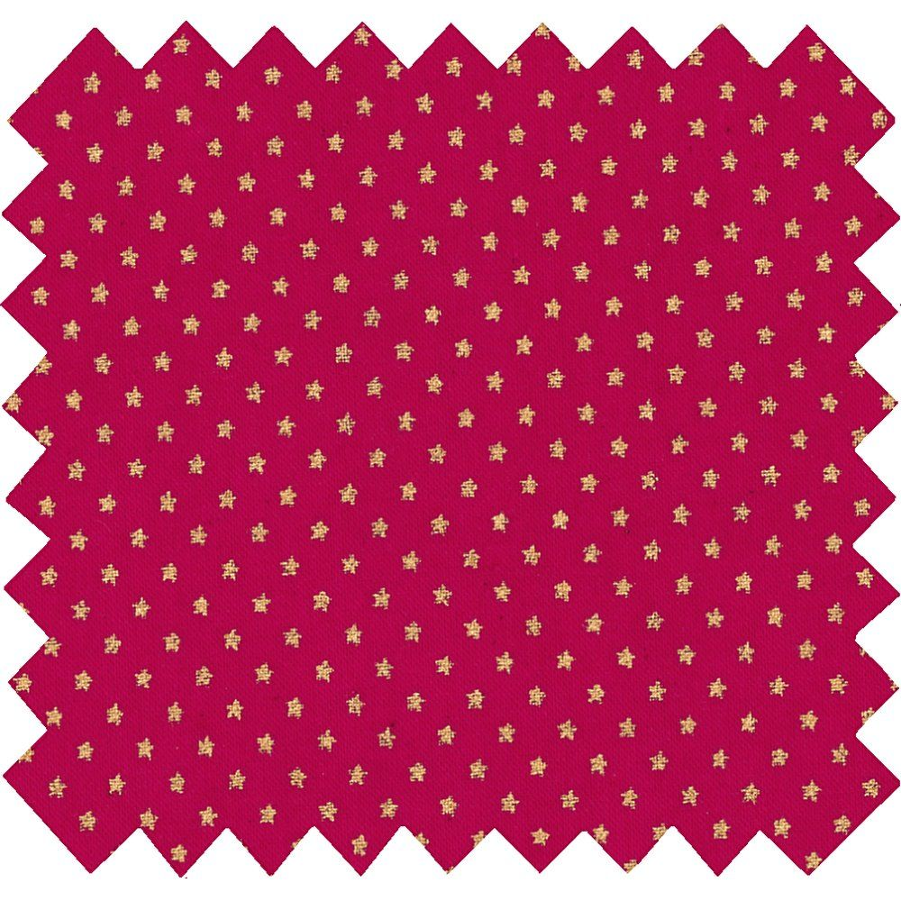 Coated fabric etoile or fuchsia