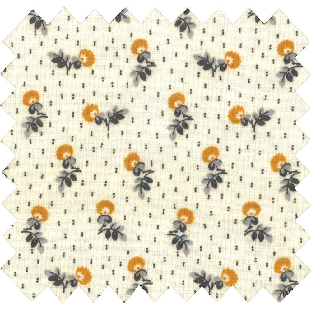 Coated fabric flowers field ex1054