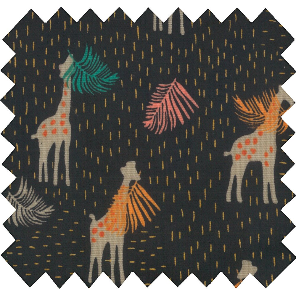 Coated fabric palma girafe