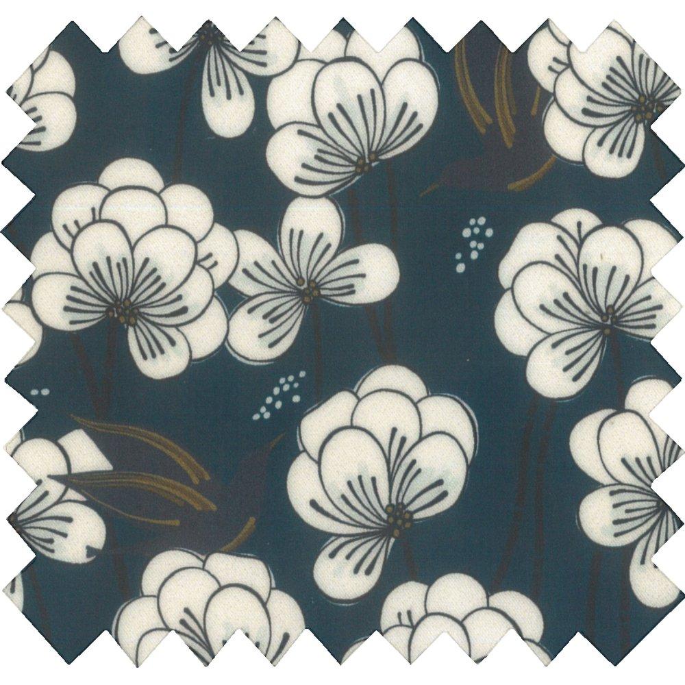 Coated fabric paradis bleu
