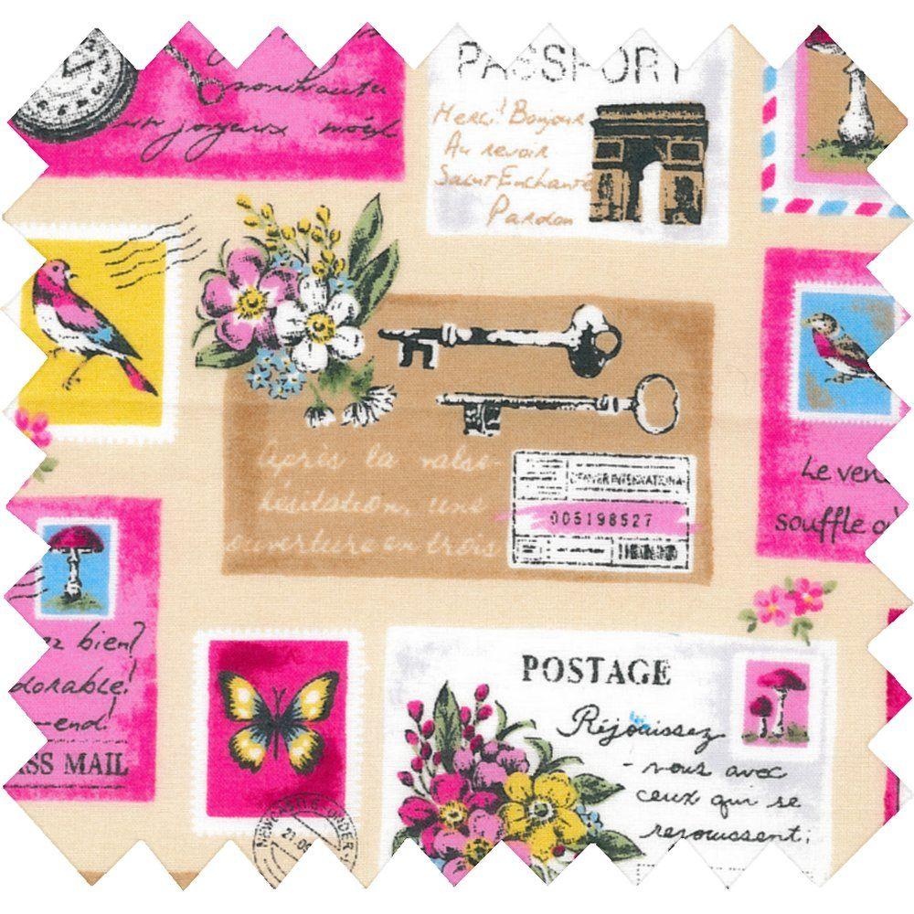 Tissu enduit postal