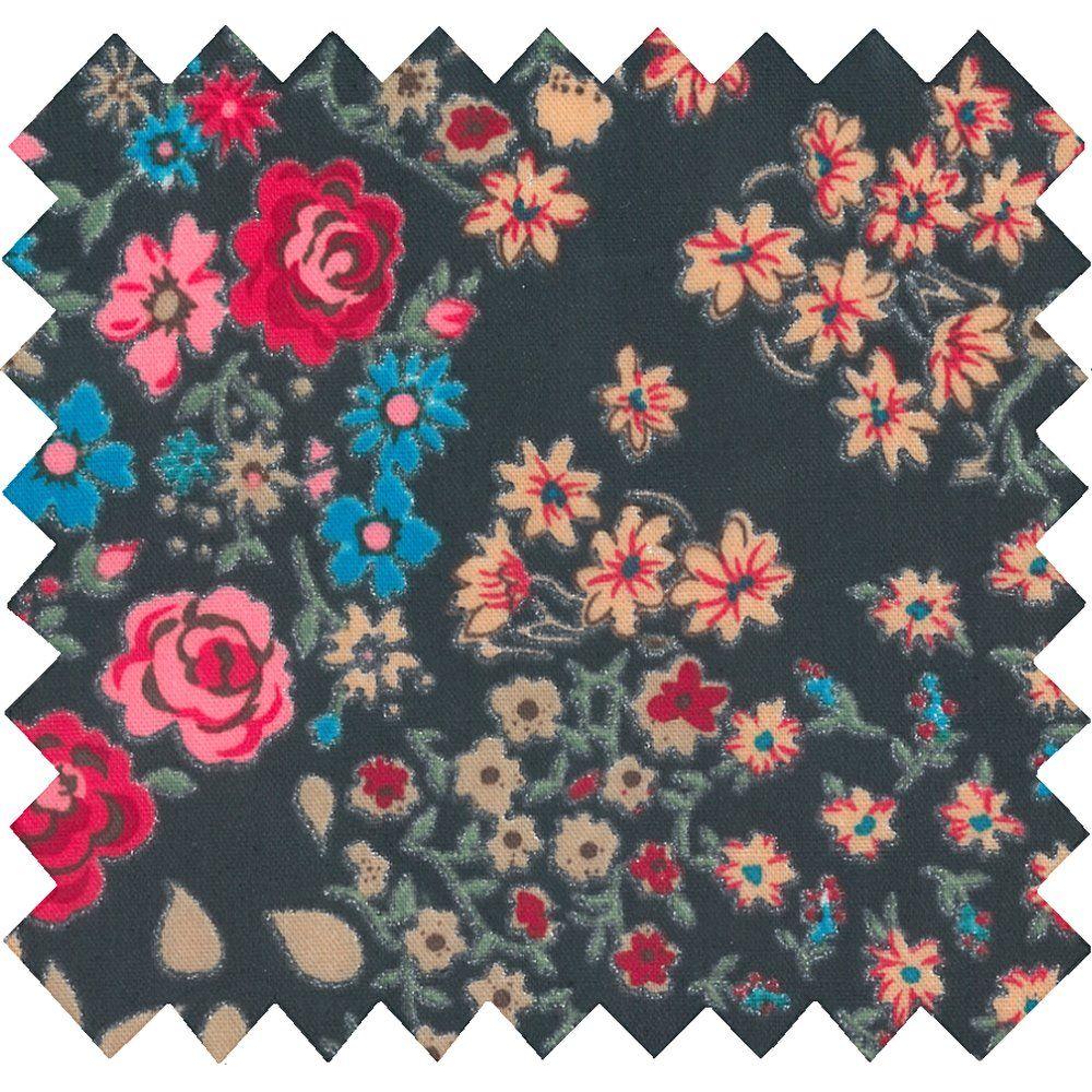 Tissu enduit rose argentée