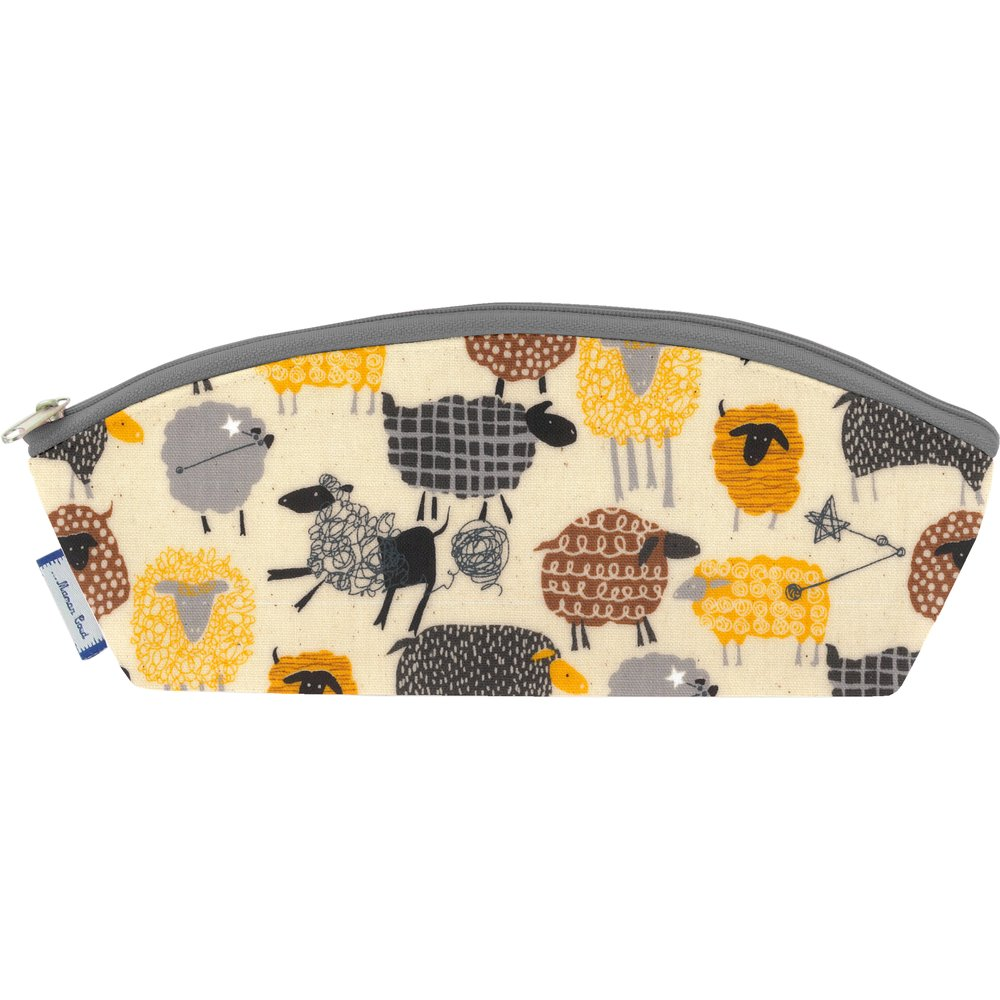 Pencil case yellow sheep