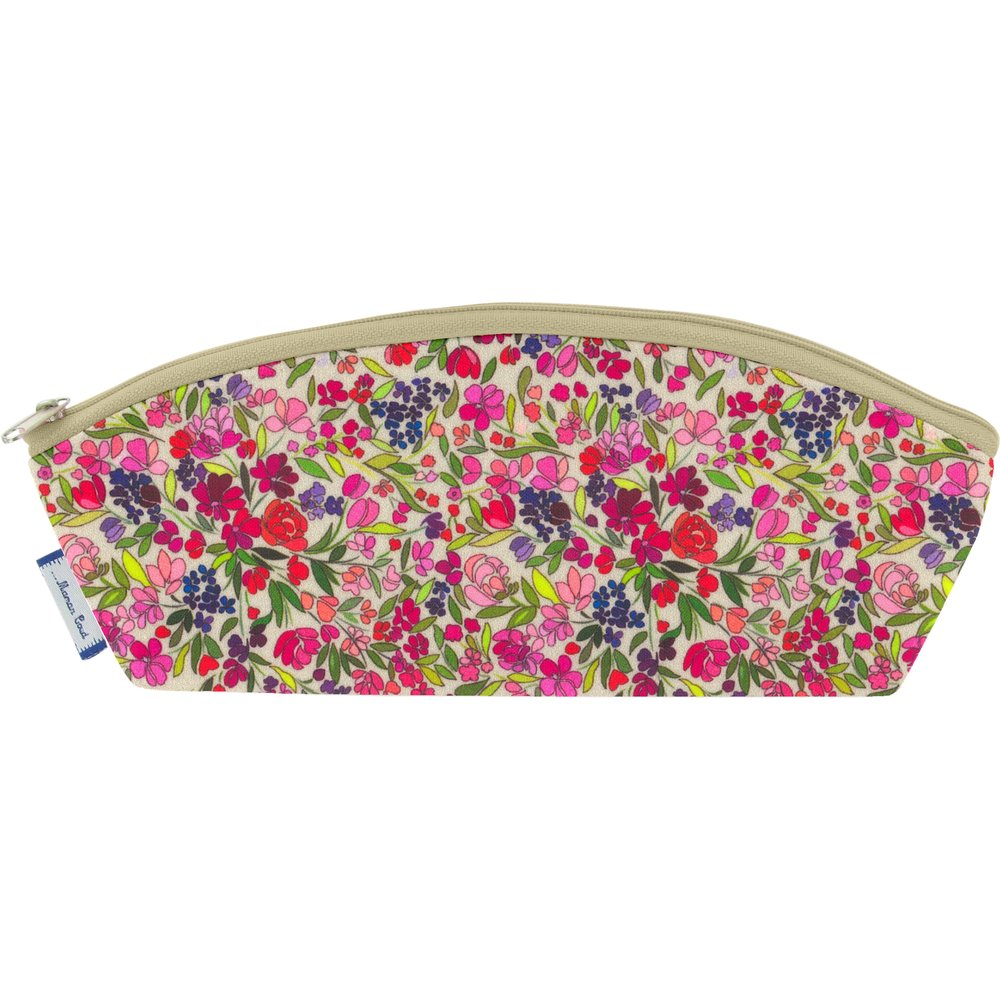 Pencil case purple meadow
