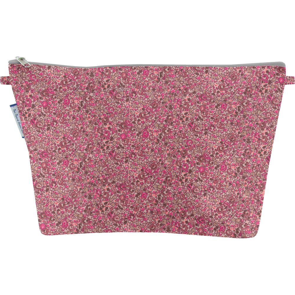 Trousse de toilette lichen prune rose