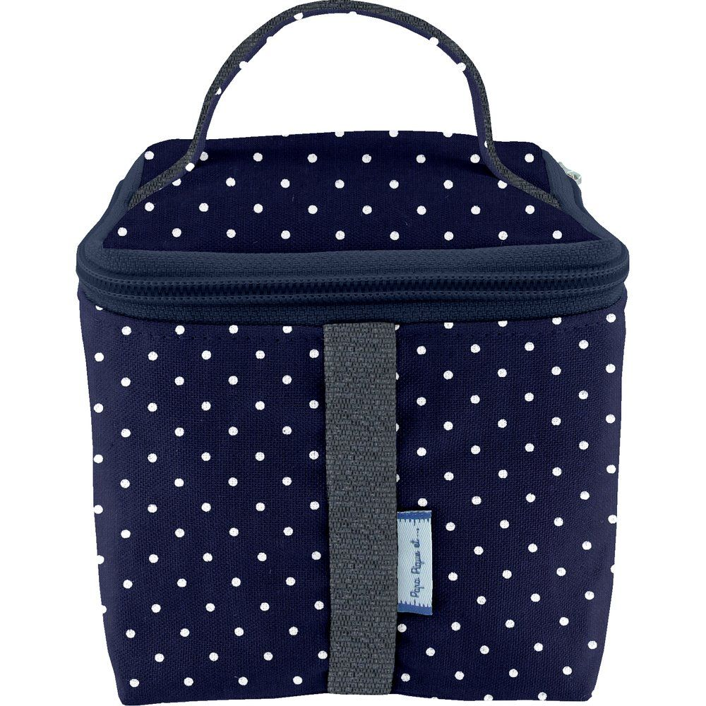 Small vanity navy blue spots