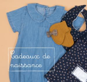 Idées cadeaux naissance - Articles pour bébés Papa Pique et Maman Coud