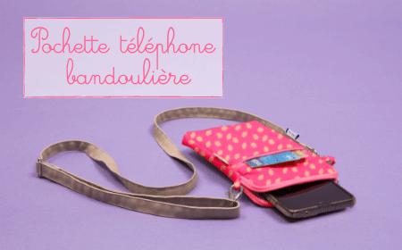Pochette telephone Papa Pique et Maman Coud