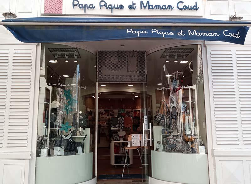 Boutique Papa Pique et Maman Coud Biarritz - PPMC