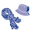 Les chapeaux et écharpes