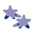 Petites barrettes clic-clac étoile
