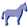 Barrettes chevaux moyens