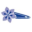 Barrettes clic-clacs fleur étoile