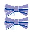 Barrettes clic-clac minis rubans