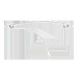 Barrettes plate 10 cm
