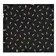 Classique paille dorée noir