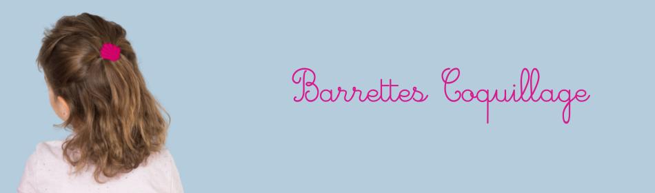 Barrettes coquillage