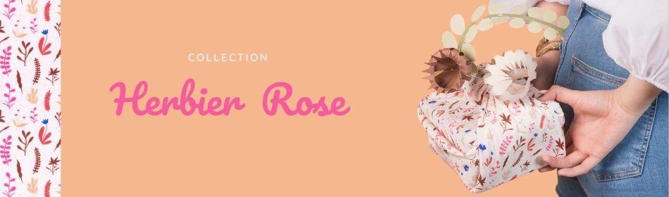Nouvelle collection Herbier rose - Papa Pique et Maman Coud