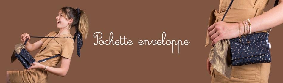Pochette enveloppe - Papa Pique et Maman Coud