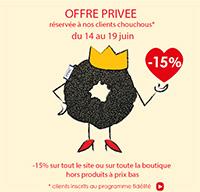 Offre privée -15%