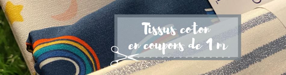 Coupons tissus 50 cm - Papa Pique et Maman Coud